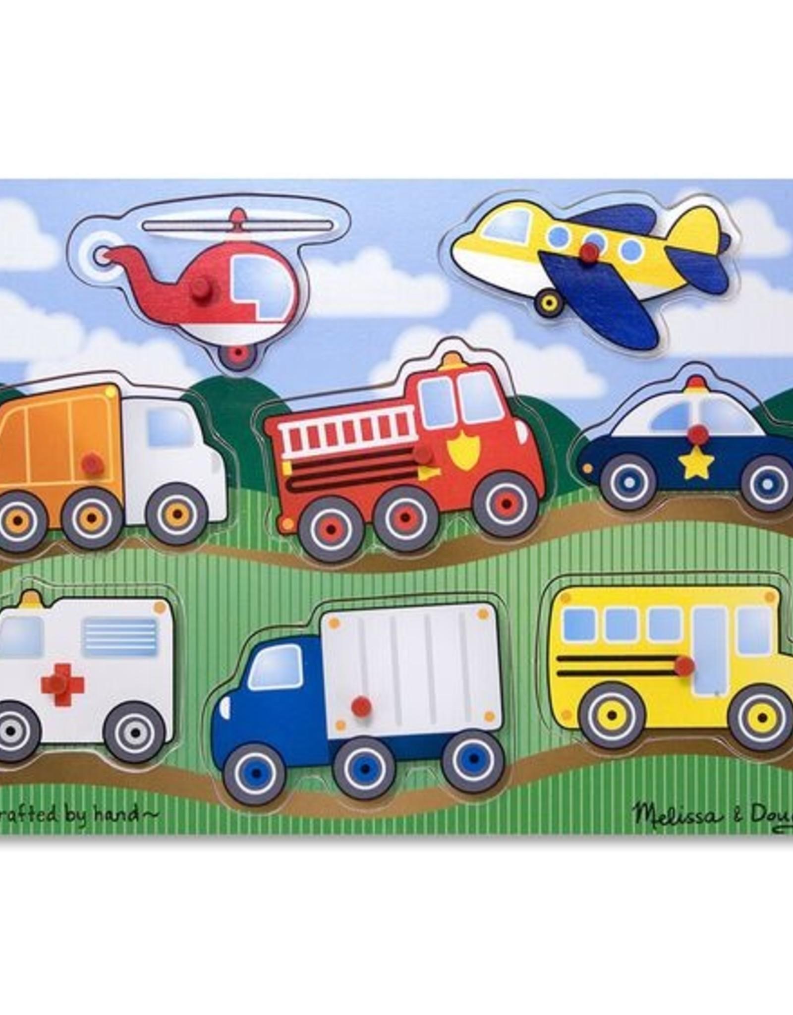 Melissa & Doug Vehicles Peg