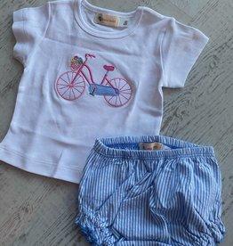 Luigi Kids Flower Bicycle Tee
