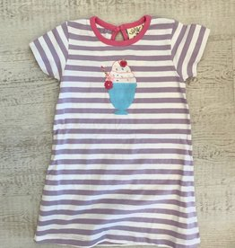 Luigi Kids Stripe A-Line Dress