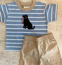 Luigi Kids Stripe Boy S/S T-Shirt