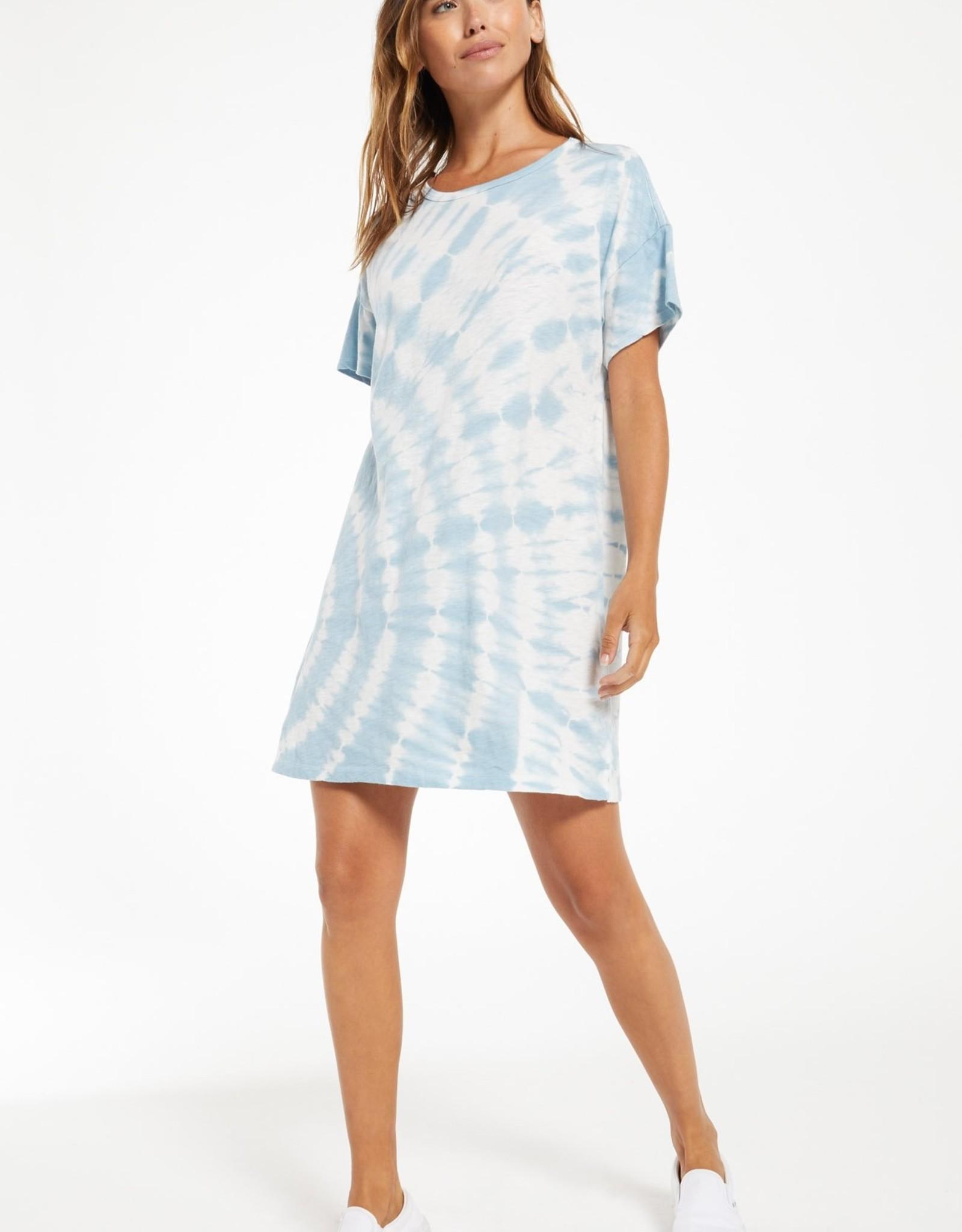 Z Supply Launa Swirl Tie-Dye Dress