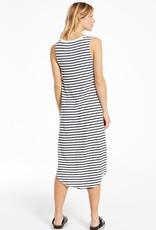 Z Supply Reverie StripeScoop Neck Dress