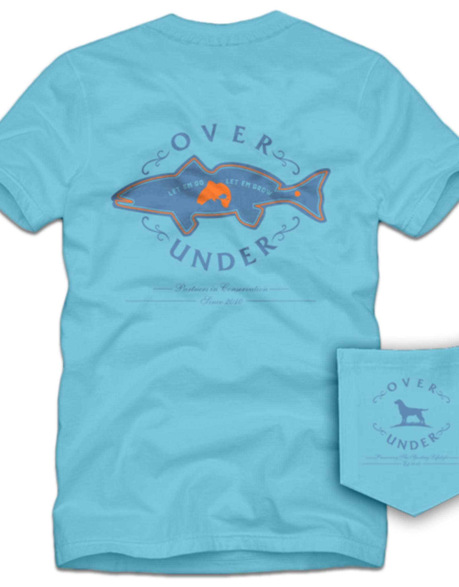 Over Under S/S Coastal Conservation T-Shirt