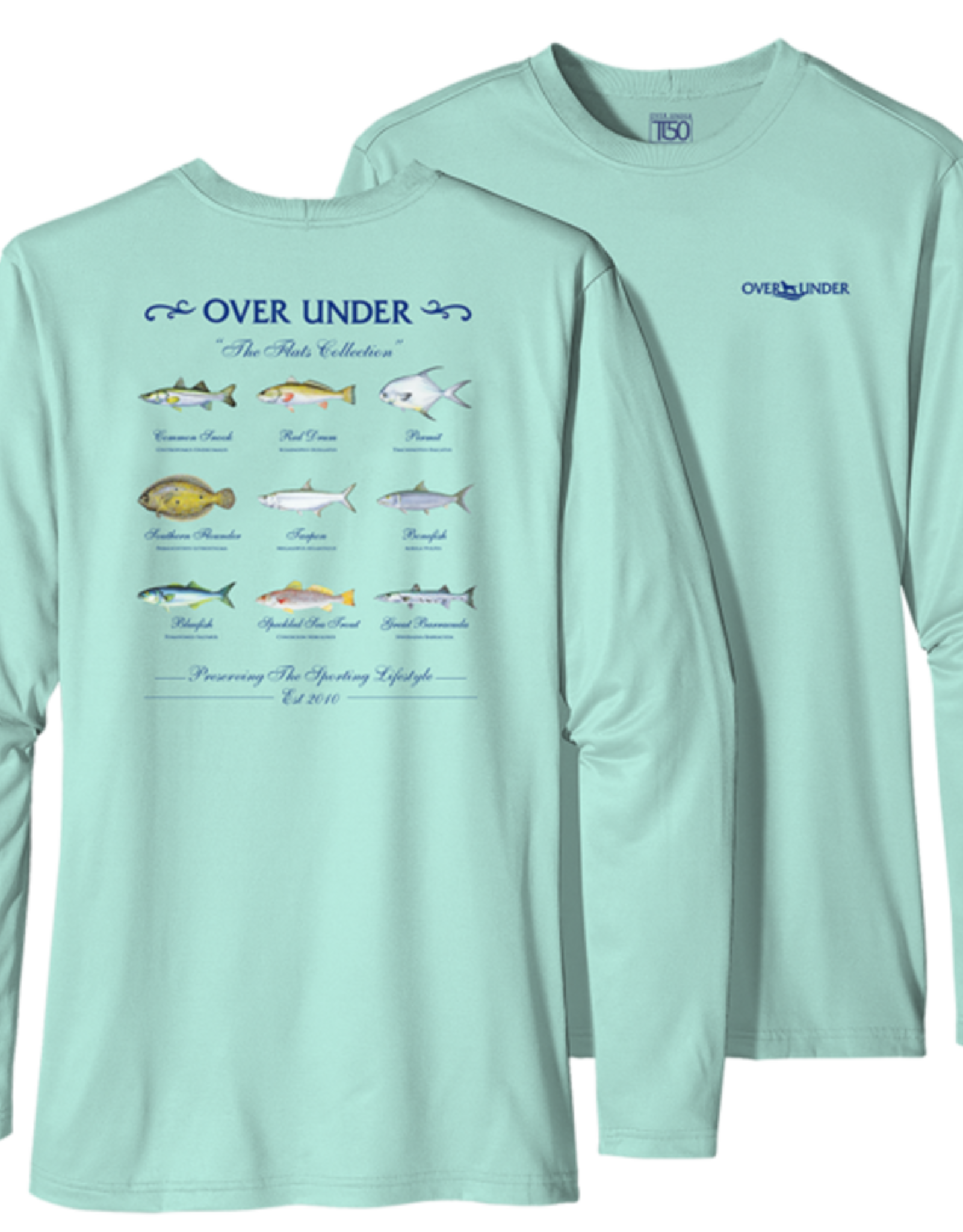 Over Under L/S Tidal Tech Flats Collection