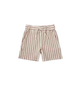 Rylee + Cru Striped Bermuda Shorts
