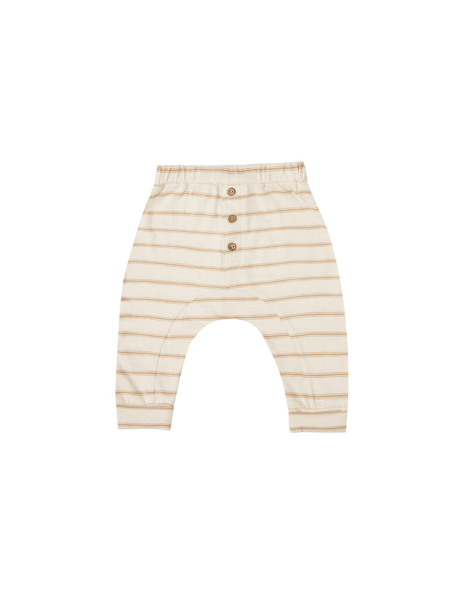 Rylee + Cru Striped Slub Pant
