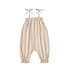 Rylee + Cru Multi Stripe Bubble Jumpsuit