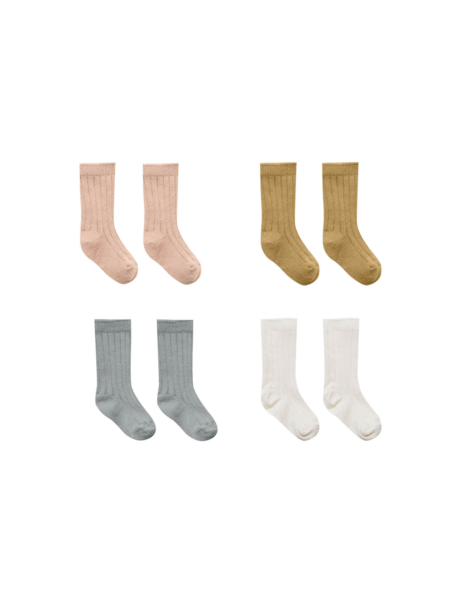 Quincy Mae Baby Socks-4 Pack