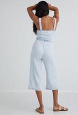 Bella Dahl Button Front Seamed Jumpsuit