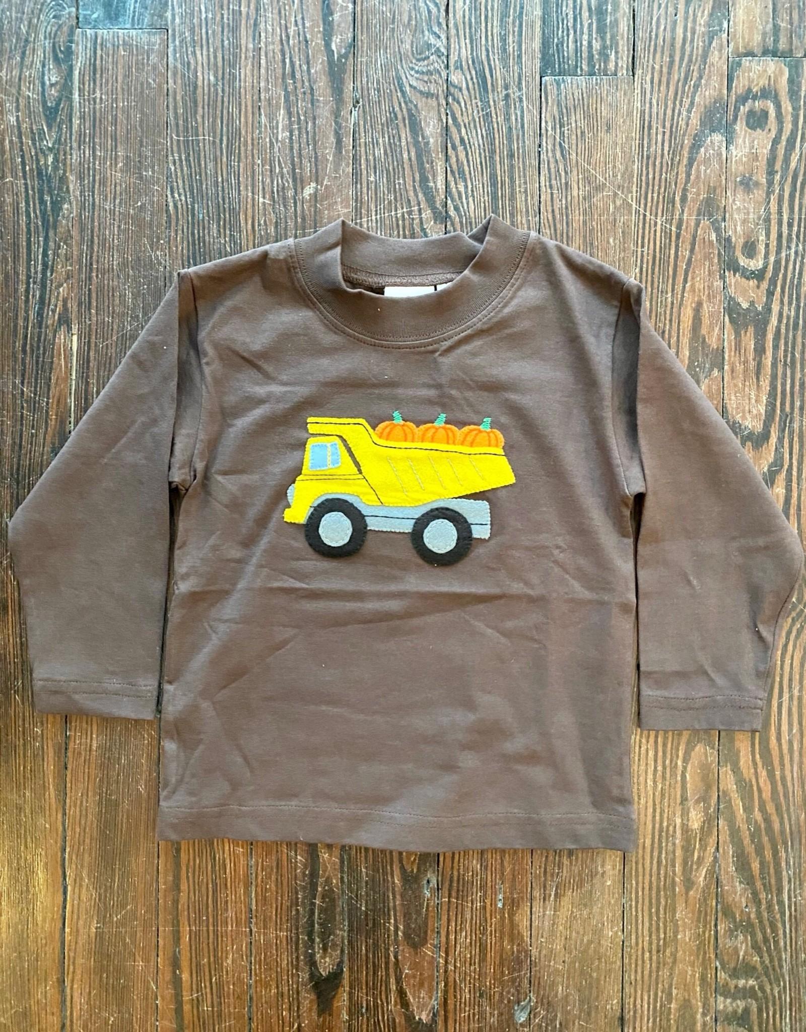 Luigi Kids L/S Dump Truck w Pumpkins