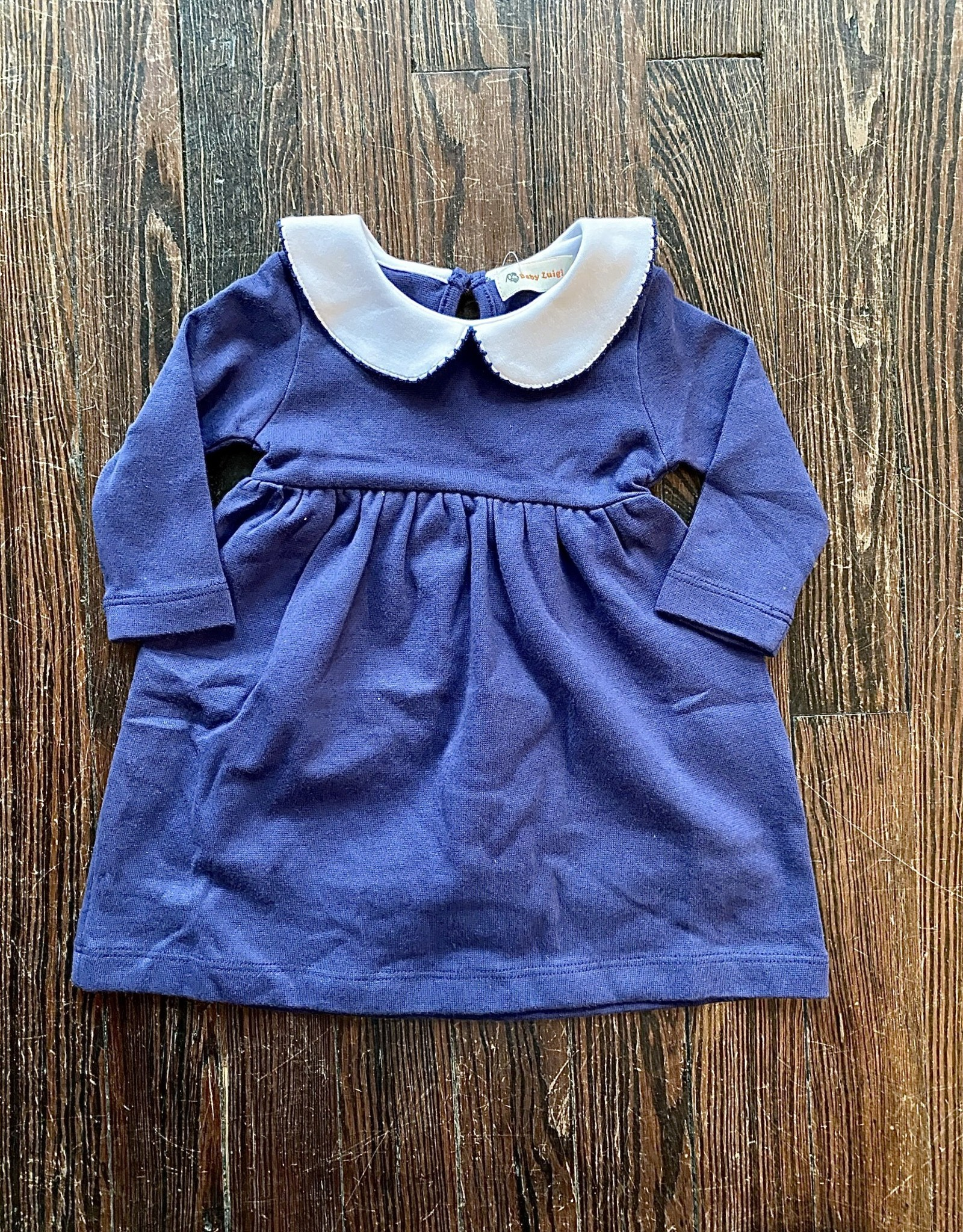Luigi Kids L/S Peter Pan Collar Dress