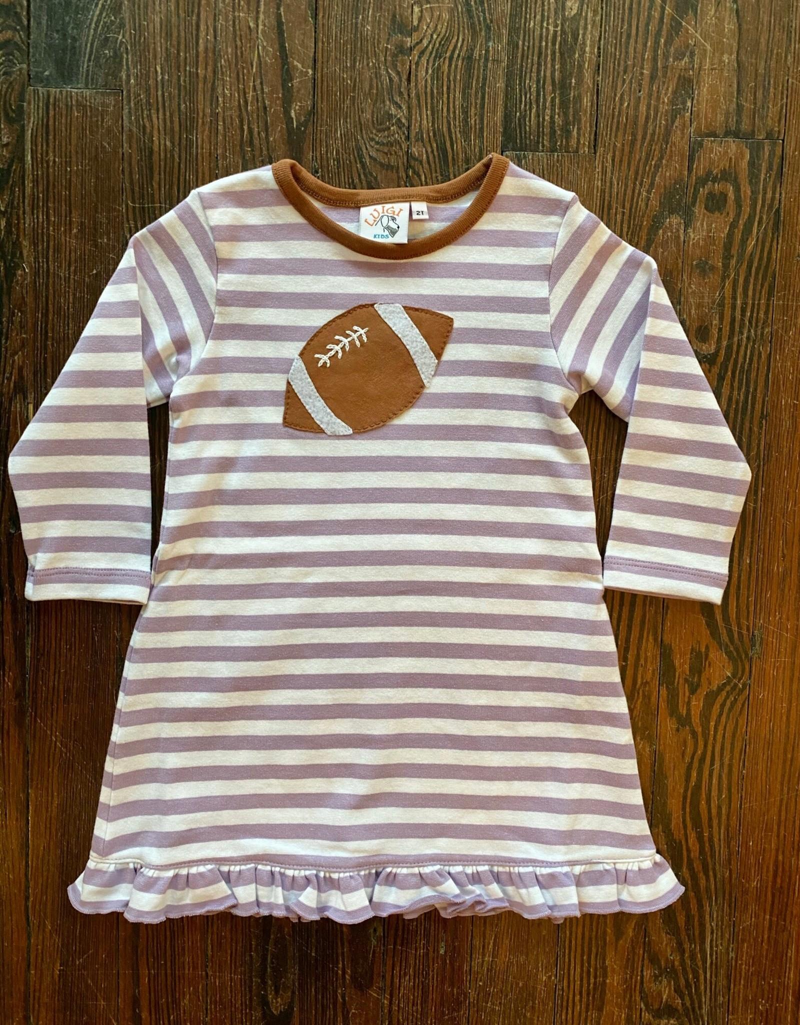 Luigi Kids Miss Football L/S Dress