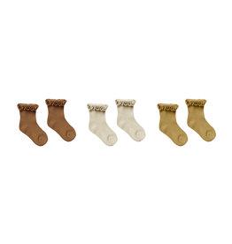 Rylee + Cru Ruffle Socks - 3 Pack