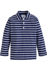 Little English Long Sleeve Striped Polo
