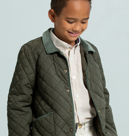 Little English Boy's Classic Quilted Jacket