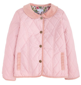 Little English Girl's Classic Quilted Jacket