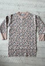 Mayoral Knit Leopard Dress