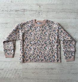 Mayoral Leopard Print Sweater