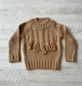 Mayoral Tassel Fringe Sweater
