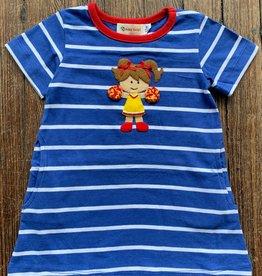 Luigi Kids Miss Cheerleader A-Line Dress