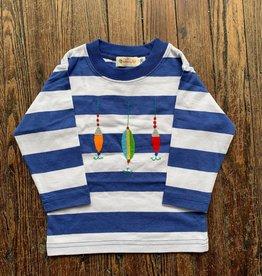 Luigi Kids L/S Wide Stripe Lures T-Shirt