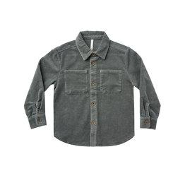 Rylee + Cru Corduroy Collared Shirt