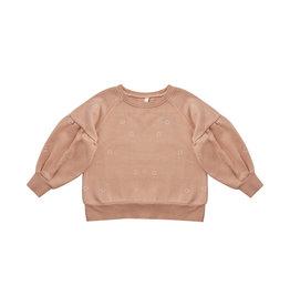 Rylee + Cru Puff Sleeve Sweatshirt