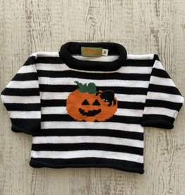 Luigi Kids Roll Neck Jack-O-Lantern Sweater