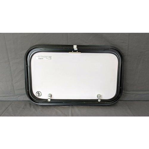 "Lippert Components 24"" x 14"" Baggage Door Tan w/ Black Trim"