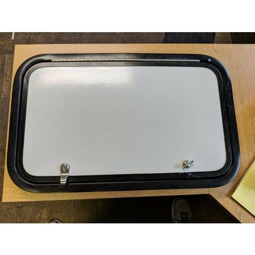 Lippert Components 25 x 15 Baggage Door White w/ Black Trim