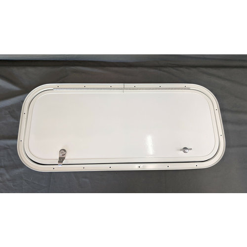 Lippert Components 28 x 11.5 Baggage Door White w/ White Trim