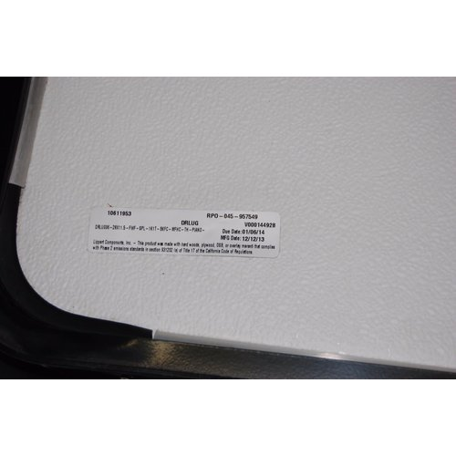 Lippert Components 28 x 11.5 Baggage Door White w/ Black Trim