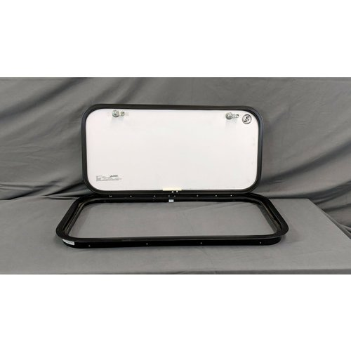 "Lippert Components 28"" x 14 1/4"" Baggage Door Tan w/ Black Trim"