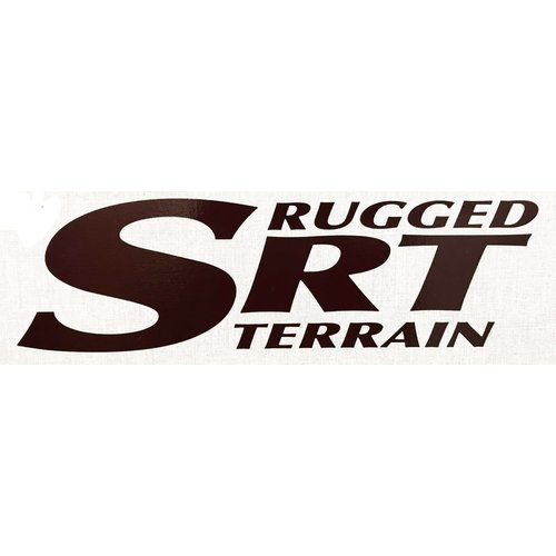 Unbranded SRT Rugged Terrain Decal