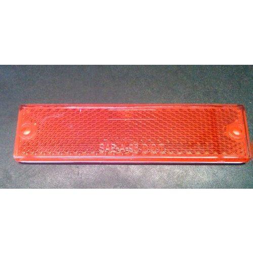 Optronics Inc. 2 Pack  Red Adhesive  Reflectors