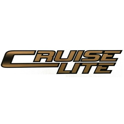 Unbranded Cruise Lite Vinyl Graphic Decal RV Trailer Camper Motorhome