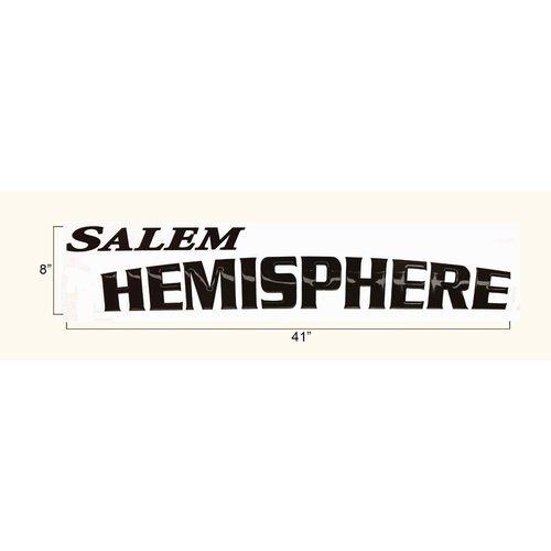 Unbranded Salem Hemisphere Decal