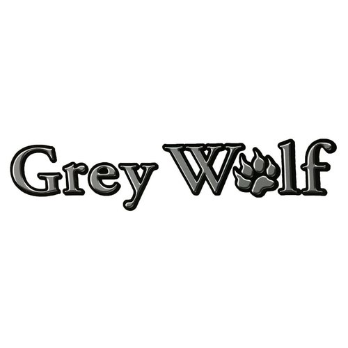 Unbranded Grey Wolf Small Vinyl Graphic Decal RV Trailer Camper Motorhome