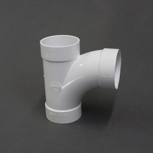 "Unbranded 2"" Y Central Vac PVC Fitting"
