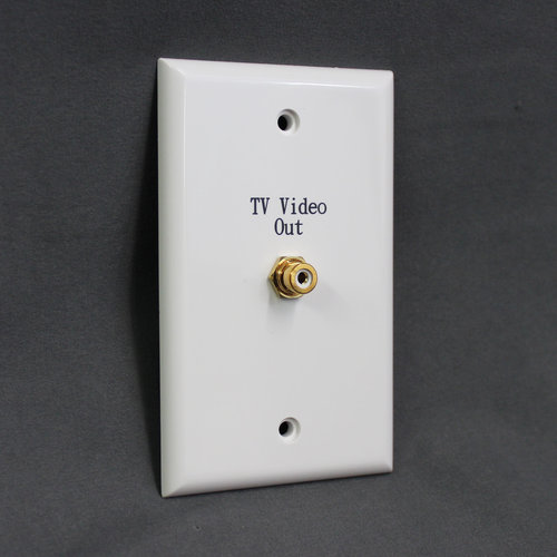 RCA RCA Video Outlet Wall Plate