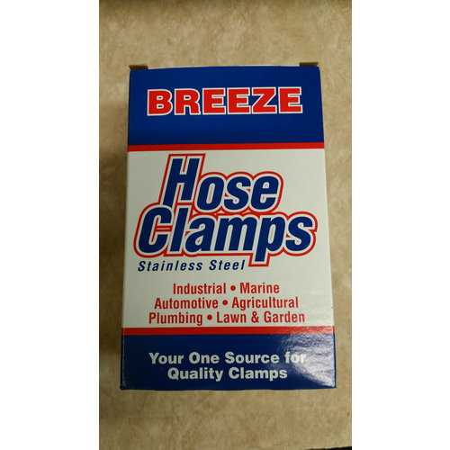Breeze 10 Pack Stainless Steel Hose Clamps Micro Gear #32