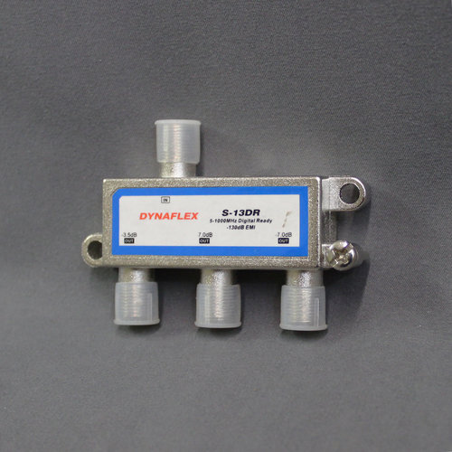 Dynaflex 3-Way Coax Splitter