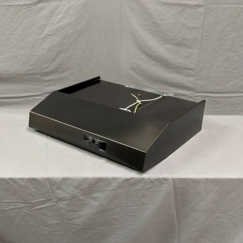 "Heng's Industeries 22"" Black Ducted 12V RV Range Hood"