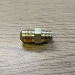 "Fairview Fittings & Manufacturing Tube Adapter 3/8"" Flair Tube x 1/4"" MIP  Brass Connector LP"
