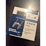 "Handy Strap 50 Pc Handy Straps Plastic Fasteners for 1/2"" Pipes"