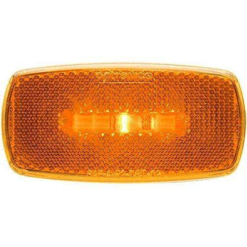 Optronics Inc. LED Amber Clearance Light w/ Black Base