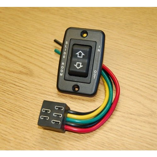 American Technology Black Low Profile Slide Out Switch w/ Harness