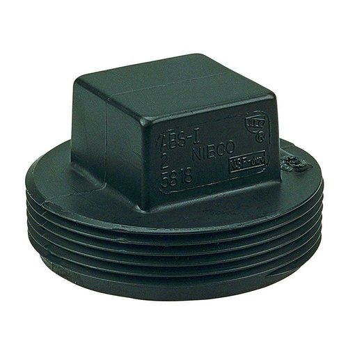 "Nibco Threaded 3"" Clean Out Plug"