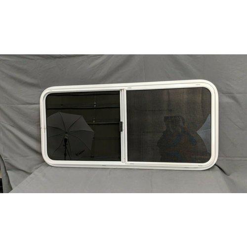 """Kinro Composites 48"""" x 22"""" White Horizontal Slider Window"""