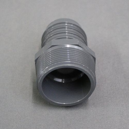 "Dura Faucet 1 1/2"" Barb x Mip PVC Adapter Insert Coupling"